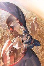 """All-New Captain America Sam Wilson Alex Ross Poster 24"""" x 36"""" Marvel 2014 OOP"""