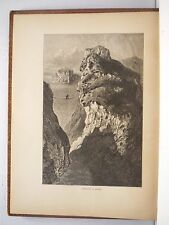CARRICK A REDE Wood Engraving by Harry Fenn 1800's