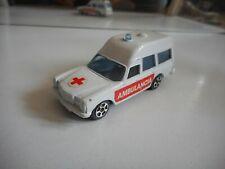 Kiko (Corgi Juniors) Mercedes 220 D Ambulance in White (Made in Brasil)