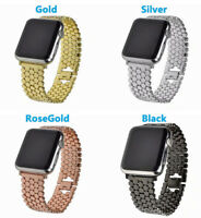 Stainless Steel 38-44mm Strap Wrist Band Bracelet For Apple Watch Series 4 3 2 1