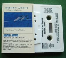 Johnny Adams Walking On A Tightrope Songs of Percy Mayfield Cassette Tape TESTED
