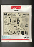 New Sealed CLICKART HOLIDAYS On 5.25 Inch Disc For IMB Compatible Computers