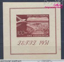 Jugoslawien Block5 postfrisch 1951 Flugpostmarke (8517291