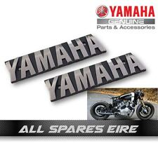 GENUINE YAMAHA RETRO MOTORCYCLE TANK LOGO BADGE EMBLEM CAFE RACER CUSTOM