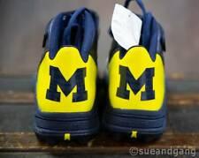 NEW Adidas Men's Size 13 University of Michigan U of M Wolverine Football Shoes
