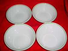 CORELLE WINTER HOLLY OR HOLLY DAYS CEREAL / SOUP BOWLS 18 OZ x 4 FREE USA SHIP