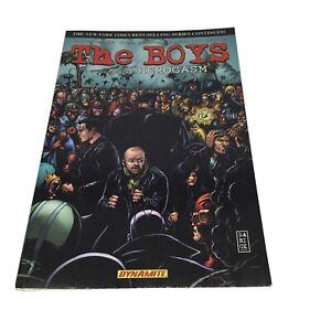 The Boys Volume 5: Herogasm First Printing Dynamite Entertainment Ennis McCrea