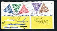 Suriname FDC E13_  1 M, met adres ; afwijkende beplakking, aangetekend