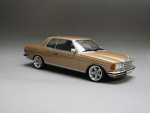 MERCEDES BENZ 230 CE 280 COUPE W123 AMG PENTA RÄDER 1:18 TUNINGMODELL OVP