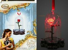 NIB- LE Beauty and the Beast Live Action Film Light-Up Enchanted Rose Ornament