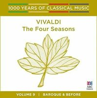 VIVALDI The Four Seasons/Violin Concertos CD BRAND NEW ABC Elizabeth Wallfisch