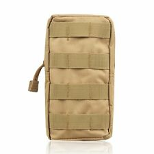 Nylon Tactical Molle Pouch Waist Belt Pack Utility Bag Hiking Hunting Storage