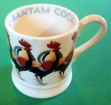 NEW Rare Discontinued Emma Bridgewater Bantam Cock Hen Chicken 1/2 Half Pint Mug