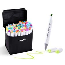 Multi Color Brush Pen Tinte Künstler Coloring 24//36//48//60//100Set Mit Bürstenkopf