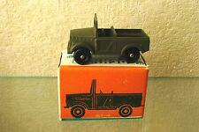 1956 GAZ-69 open staff car 4x4 app. 1/64 METAL toy 005 from Russian Soviet USSR