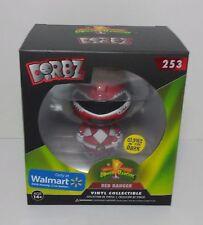 Funko Dorbz 253 MMPR Red Ranger GITD  Walmart Exclusive 3 inch vinyl figure NIB