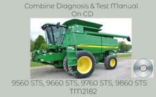 John Deere 9560 Sts 9660 Sts 9760 Sts 9860 Sts Combine Diagnosis Manual Tm2182