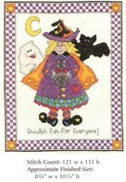 TRICK OR TREAT!  -  CROSS STITCH PATTERN ONLY HM - EYYW