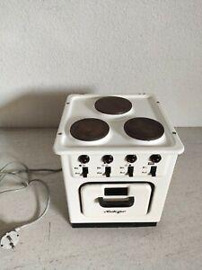 alter HEILIGER elektrischer KINDERHERD mit Backofen Elektroherd Blechspielzeug
