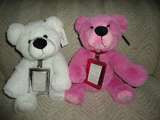 "La Senza JACK & JODY Bear SET 2008 Canada 12th Annual Christmas Bears 13""  MINT"
