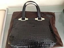 Elie Tahari Gorgeous Black Patent Leather Caitlin Frame Bag-Very Stylish!