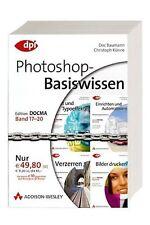 Photoshop-Basiswissen Band 17-20 (4 Bde.) Addison-Wesley#Edition DOCMA Grundkurs