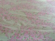 Janie and Jack layette Crib Sheet Pink Yellow Flowers Baby Girl