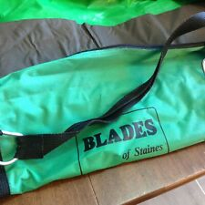 """Fencing Bag nylon with zipper green Blades by Staines bag 44"""" long"""
