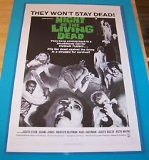 George A Romero's Night of the Living Dead 1968 11X17 Movie Poster