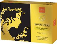 VLCC Natural Salon Series GOLD FACIAL KIT 6 Improves Skins Hydration
