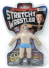 WWF WWE Bootleg Action Figure Stretchy Wrestler JA-RU 4x Stretch Power