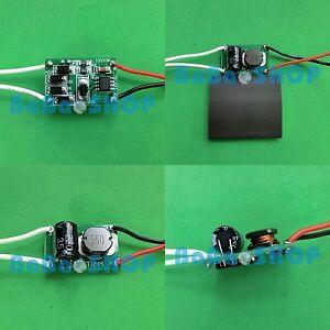 AC/DC LED Driver 12V~24V Power Supply f 10W 3x3W Lamp Light Bulb out DC 900mA