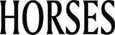 """ HORSES "" HORSEBOX TRAILER STICKER GRAPHIC - XTR LARGE"