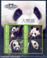 LIBERIA  2013  GIANT PANDA SHEET  OF FOUR MINT NH