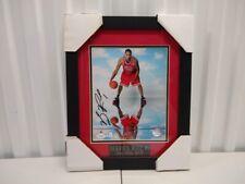 Derrick Rose Chicago Bulls Autographed 8x10 Photo Framed & Matted JSA Coa