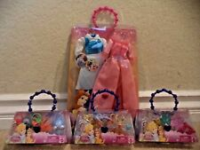 DISNEY PRINCESS BELLE CLOTHES ACCESSORIES SHOES TIARA PURSE NECKLACE *NEW*