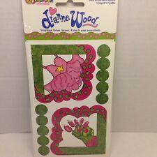 Flowers Pink SCRAPBOOKING Corner Stickers By Sandylion A102