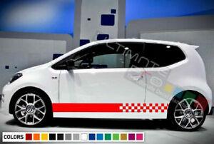 Stripes for Volkswagen UP VW GTI Stickers 2011 2012 2013 2014 2015 2016 body kit