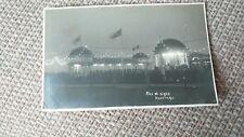 Pier At Night, Hastings Postcard