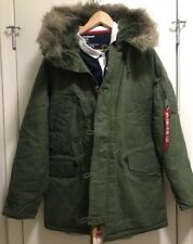 ALPHA INDUSTRIES  Parka Jacket Mens  Size M