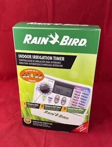 NEW Rain Bird  Programmable Indoor Irrigation Timer 4 Zone Sprinkler Timer