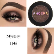 Phoera Makeup Metallic Matte Eyeshadow Palette Cosmetic Shimmer Glitter 11