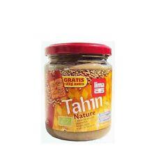 TAHIN ECOLOGICO SIN SAL NATURE 225 gr LIMA