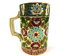 ANTIQUE HUNGARIAN POTTERY MUG TANKARD CUP POSSIBLY FISCHER BUDAPEST