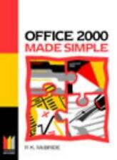 Office 2000 Made Simple (Made Simple Computer),P K Mcbride