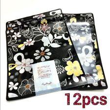Plastic Scarf Underwear Sock Gift Packaging Bag with Zip Lock Storage Bag 12pcs
