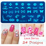 24 Design DIY Nail Art Image Stamp Stamping Plates Manicure Template Nail Acc