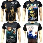 TIME IS MONEY 2PAC MENS, LADIES T-SHIRTS, HIP HOP RAP BLING DANCE TEES, DESIGNER