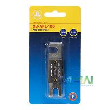 *NEW* JL AUDIO XB-ANL-100 100 AMP NICKEL-PLATED ANL BLADE FUSE XB-ANL100 100A