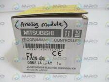 MITSUBISHI FX2N-4DA INPUT MODULE ANALOG * NEW IN BOX *